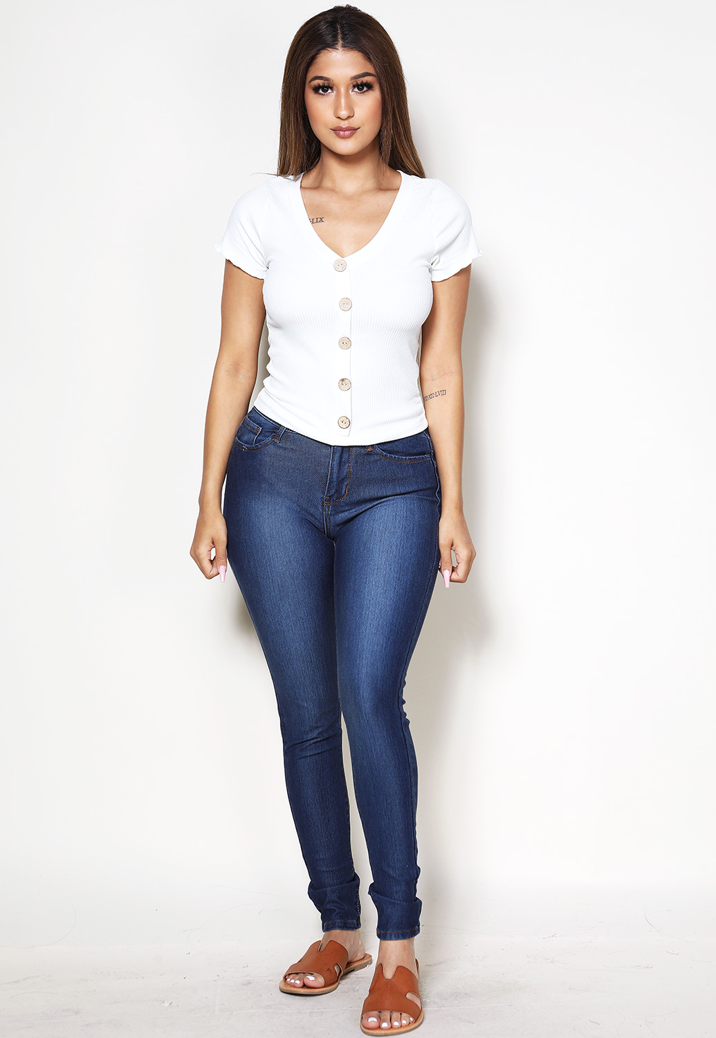 Skinny Denim Jeggings