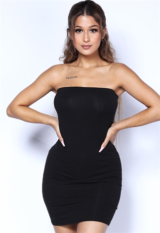 82bb1893b12 Strapless Mini Dress
