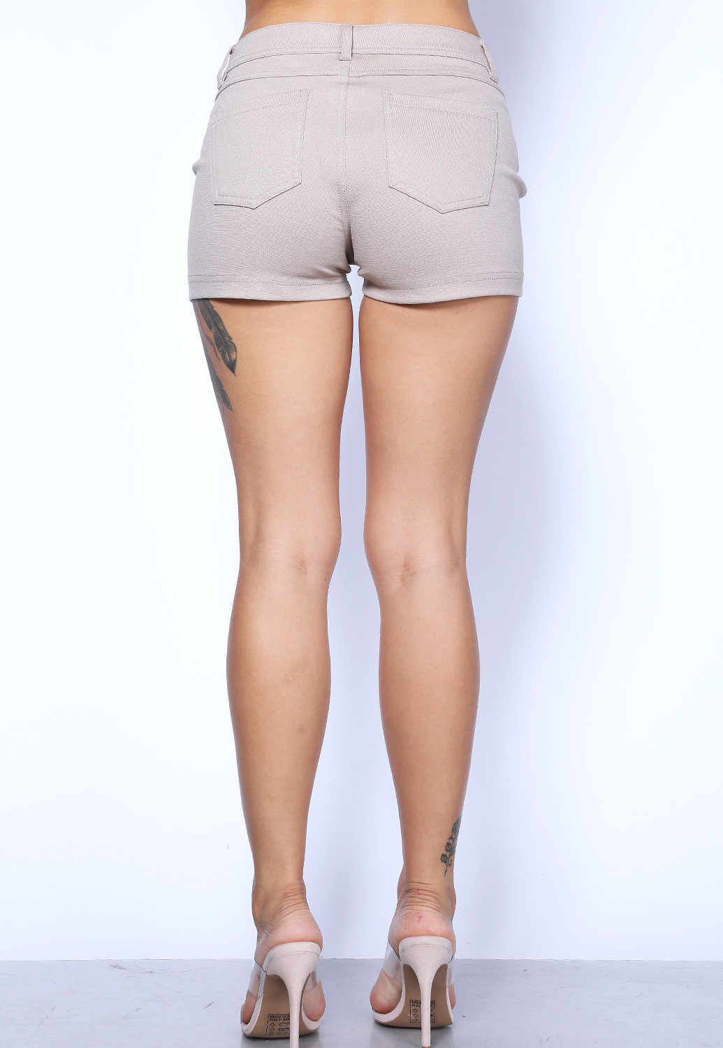 Two Pocket Stretch Shorts