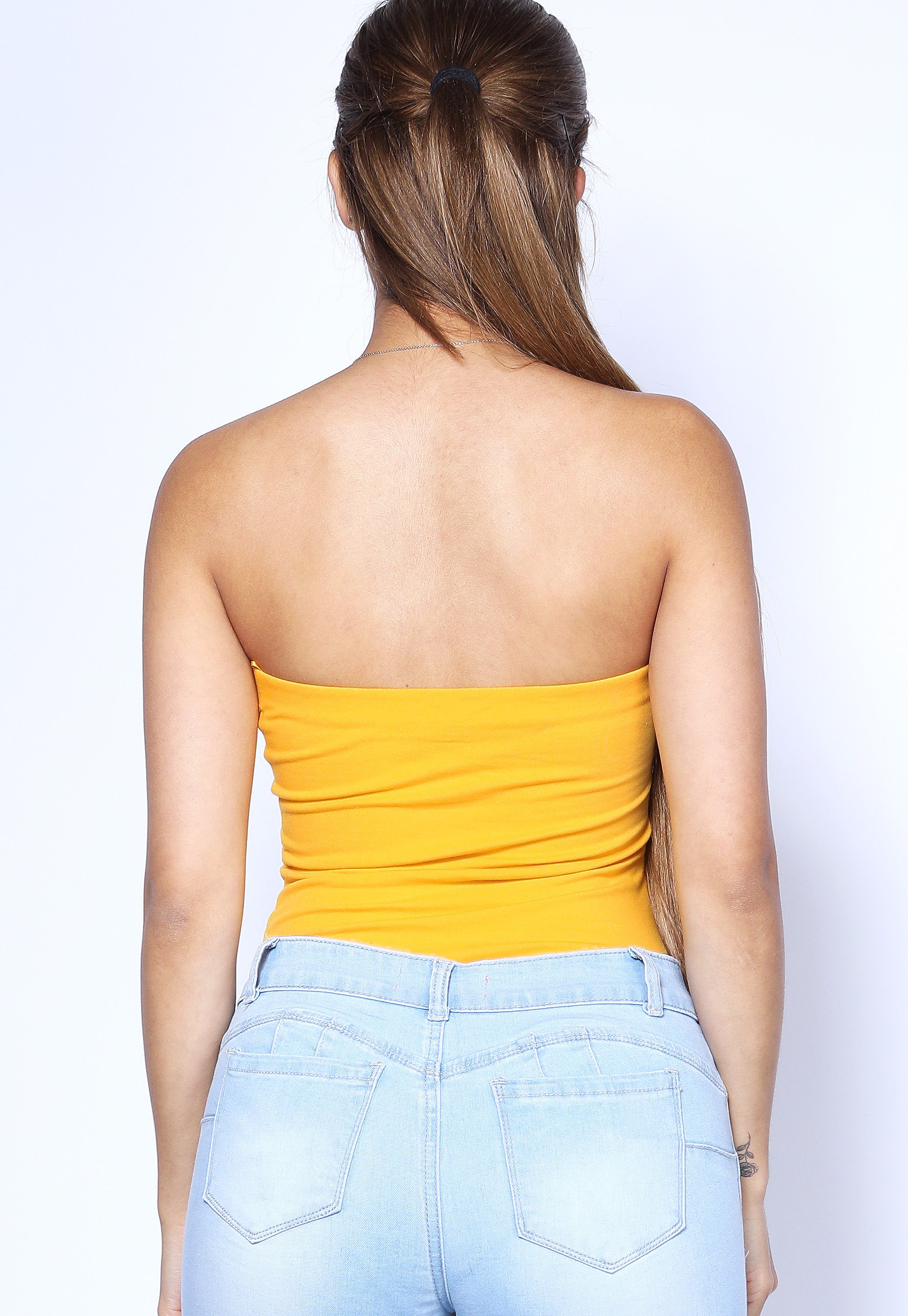 Strapless Basic Bodysuit