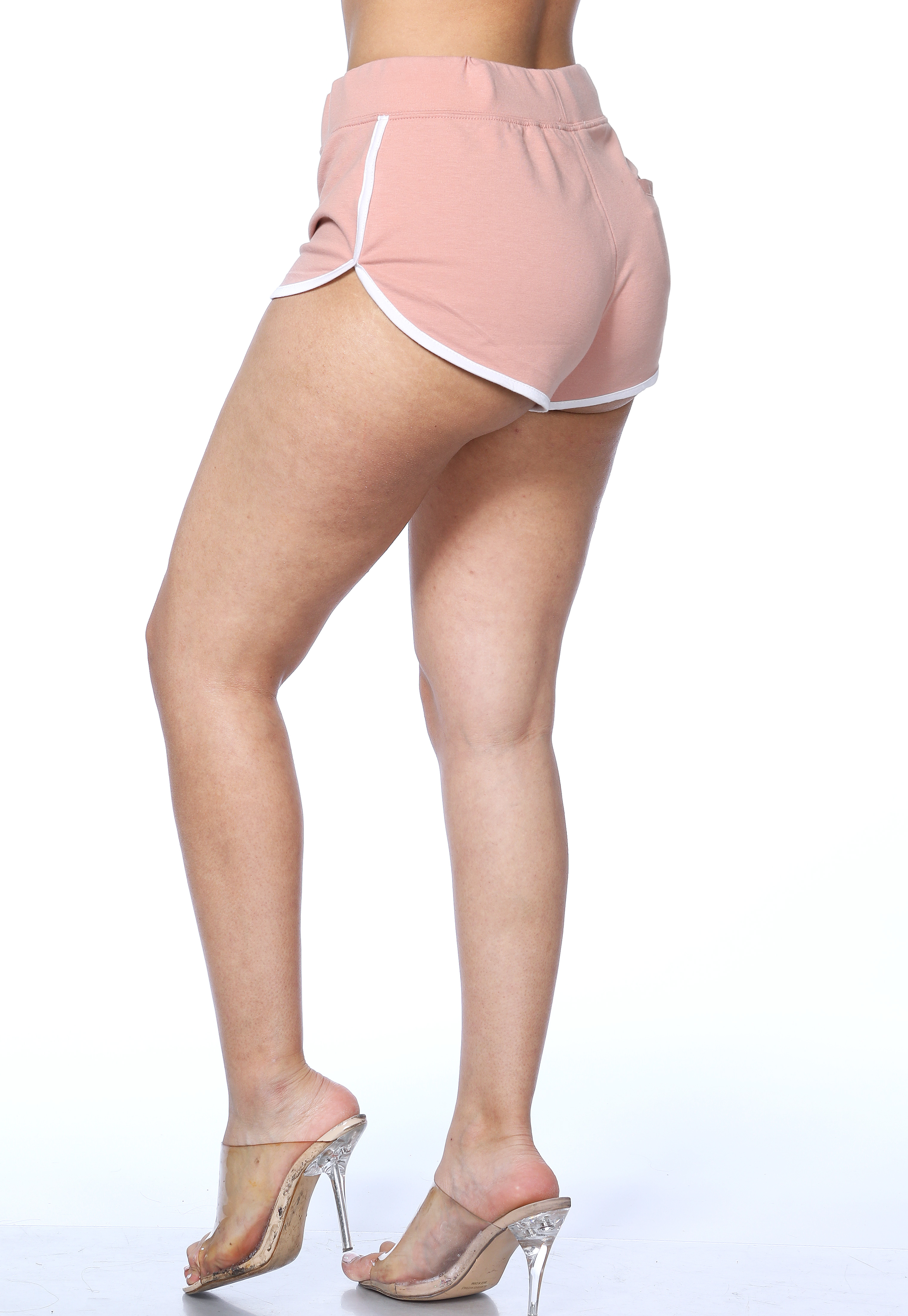 Tie Front Activewear Shorts