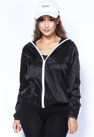 Zip-Up Line  Activewear Jacket