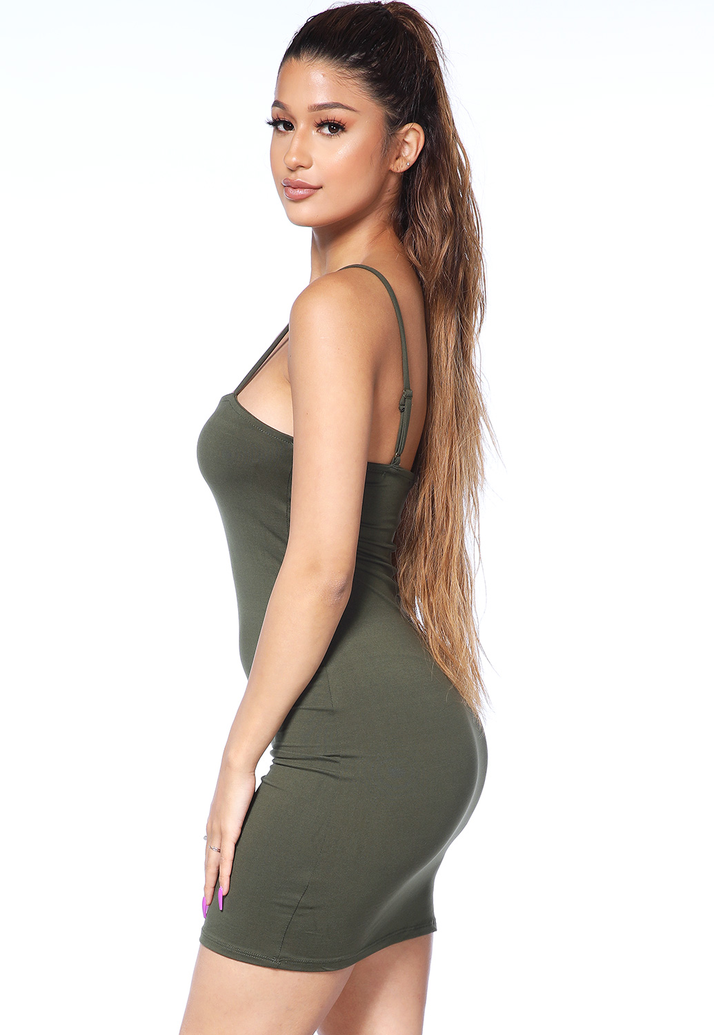 Basic Bodycon Mini Dress