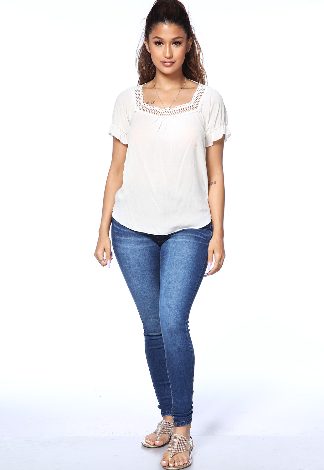 Classic Fit Skinny Jeans