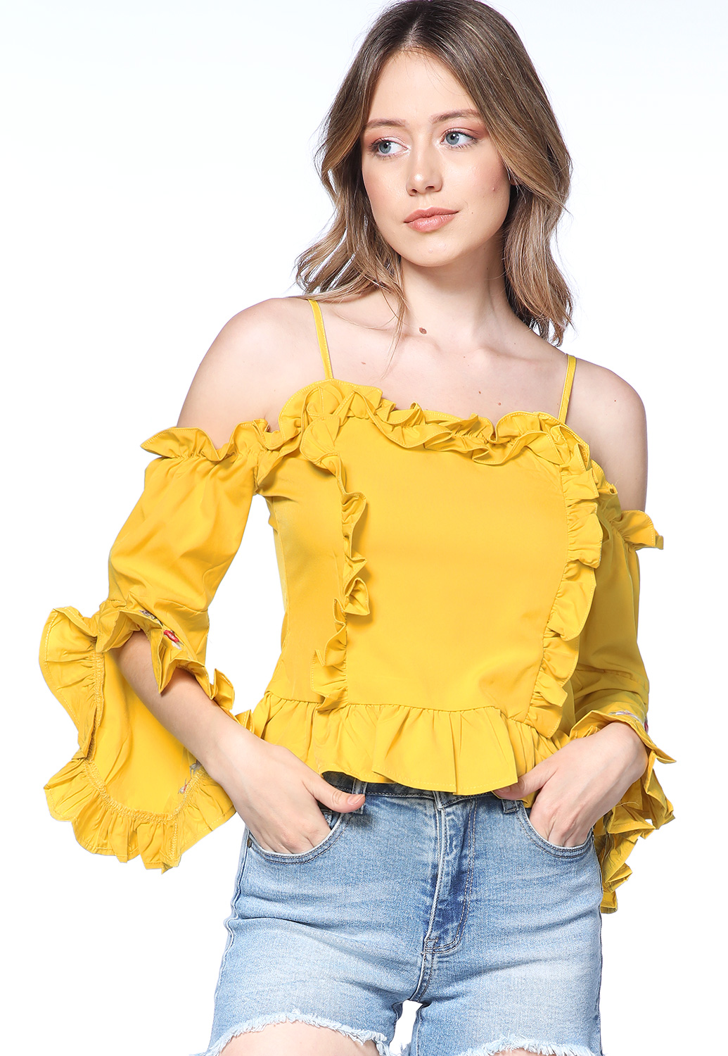 Floral Embroidered Casual Top