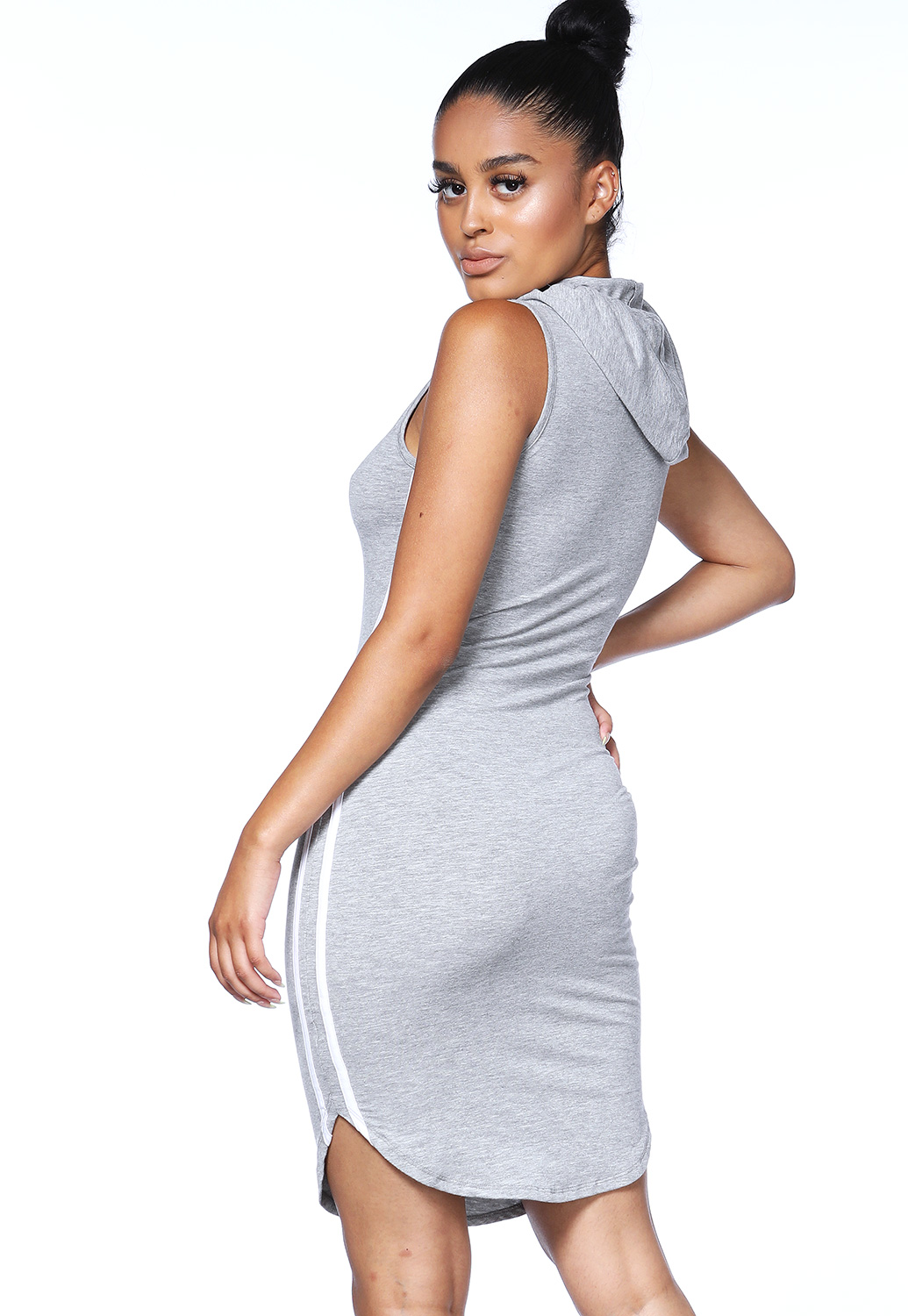 Side Striped Activewear Dress
