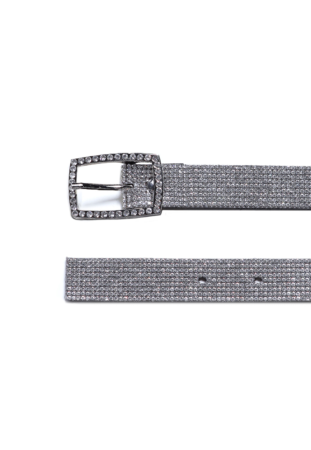 Rhinestone Encrusted Belt
