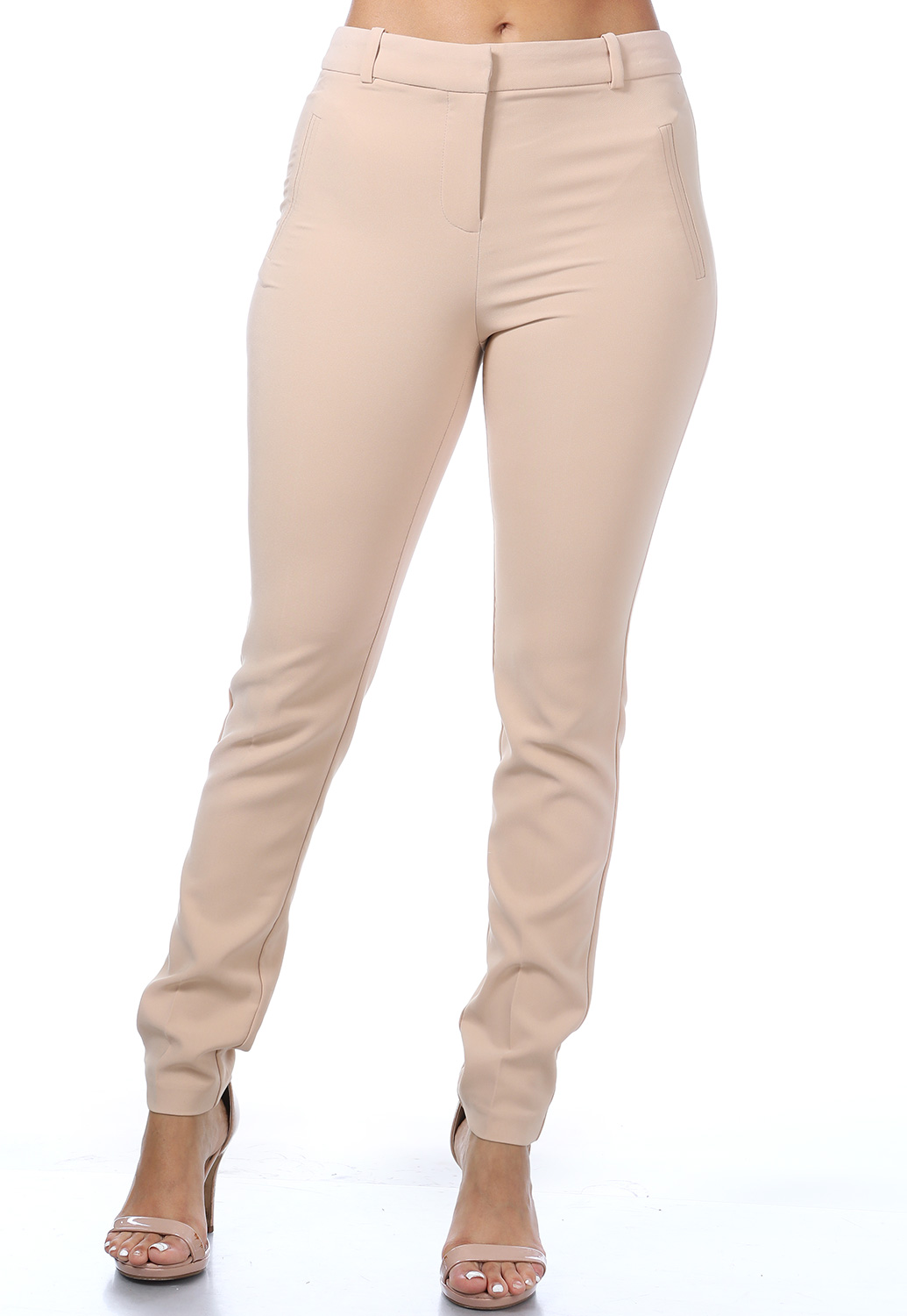 Dressy Fitted Pants