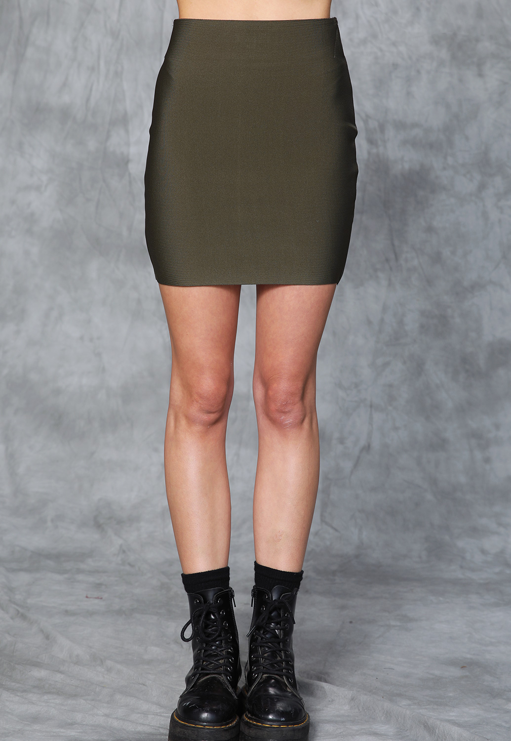 Stretchy Bodycon Mini Skirt