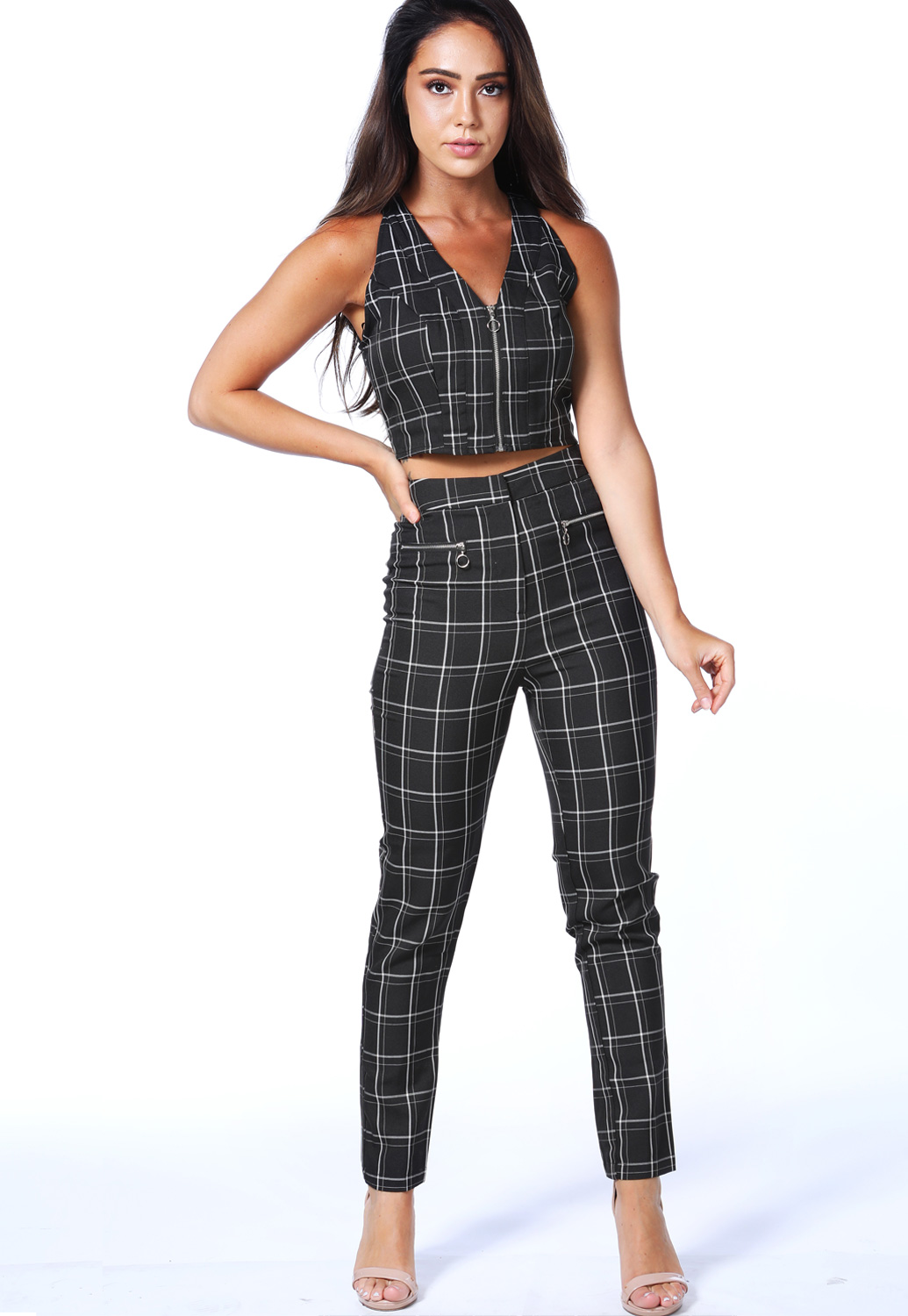 Plaid Dressy Pants
