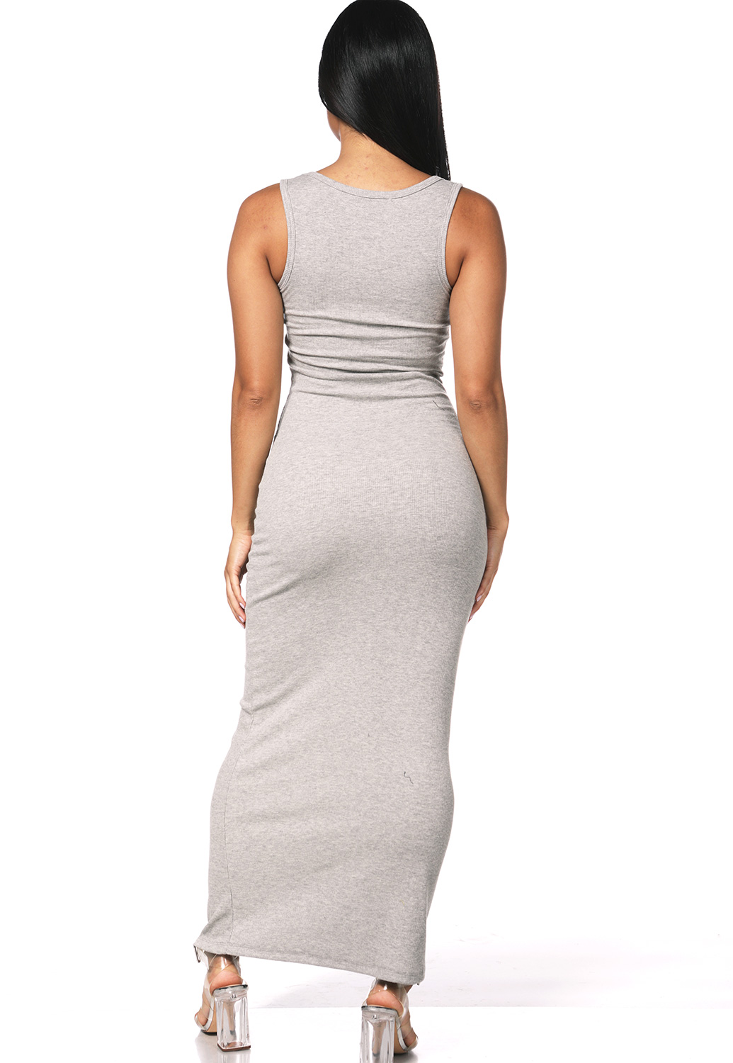 Ribbed Cami Maxi Dress