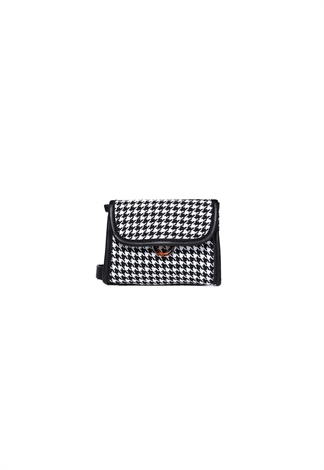 Plaid Print Fanny Bag