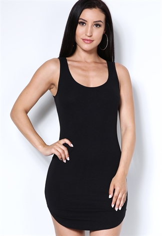 Back Crisscross Bodycon Dress