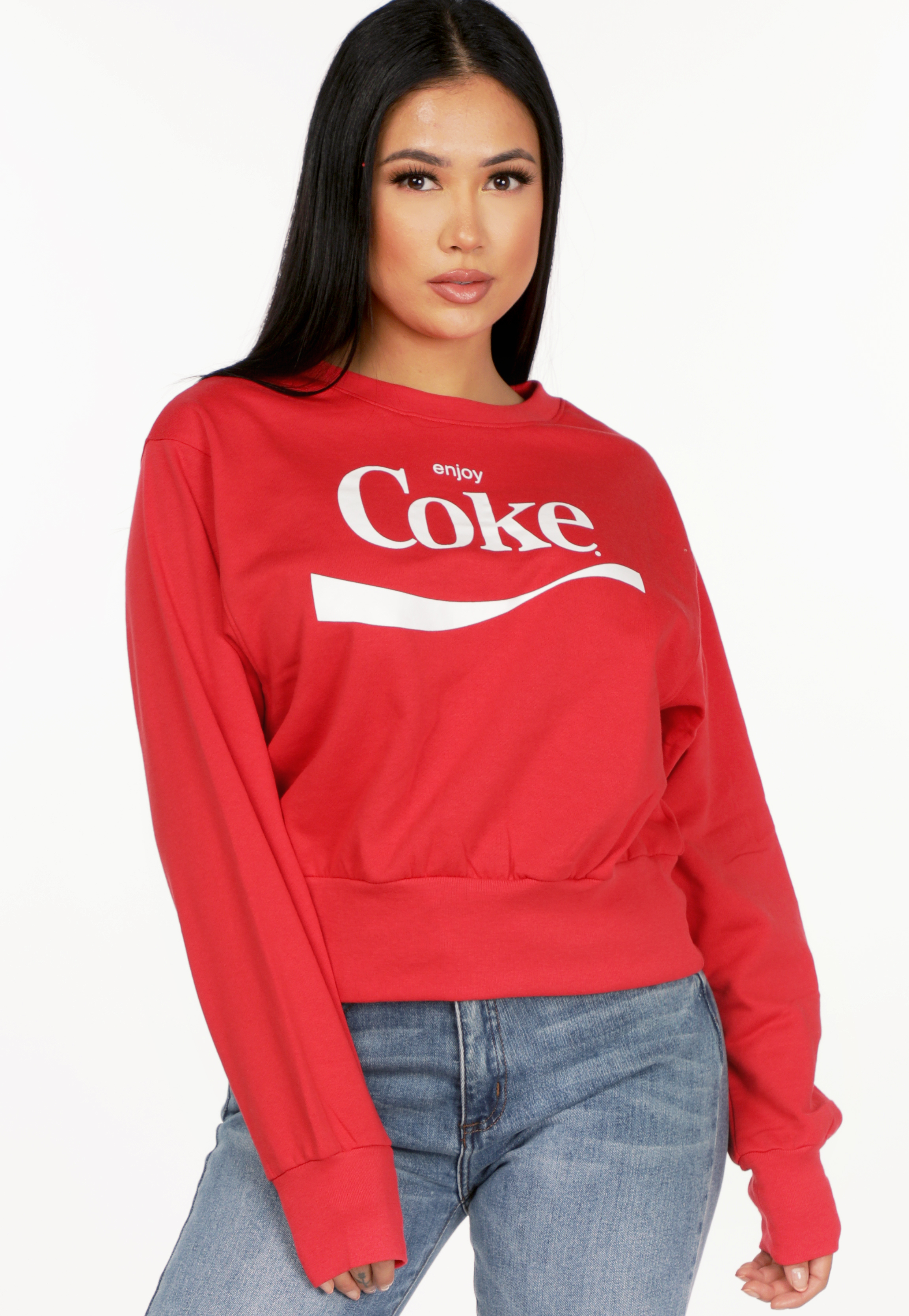 Coke Graphic Sweater