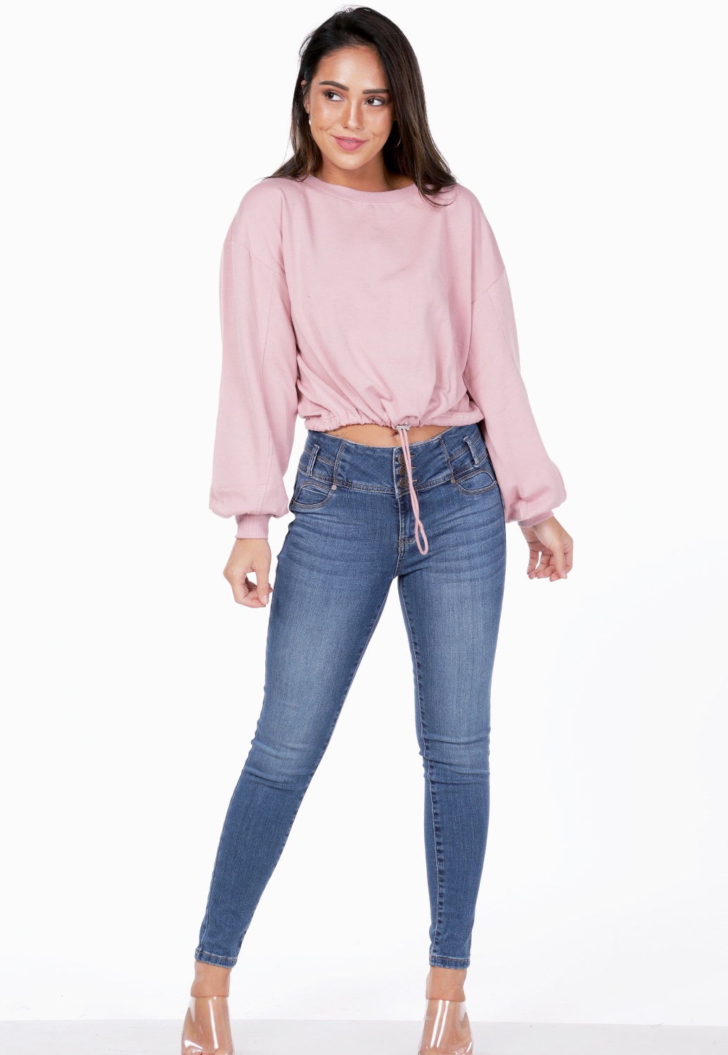 Drawstring Casual Top