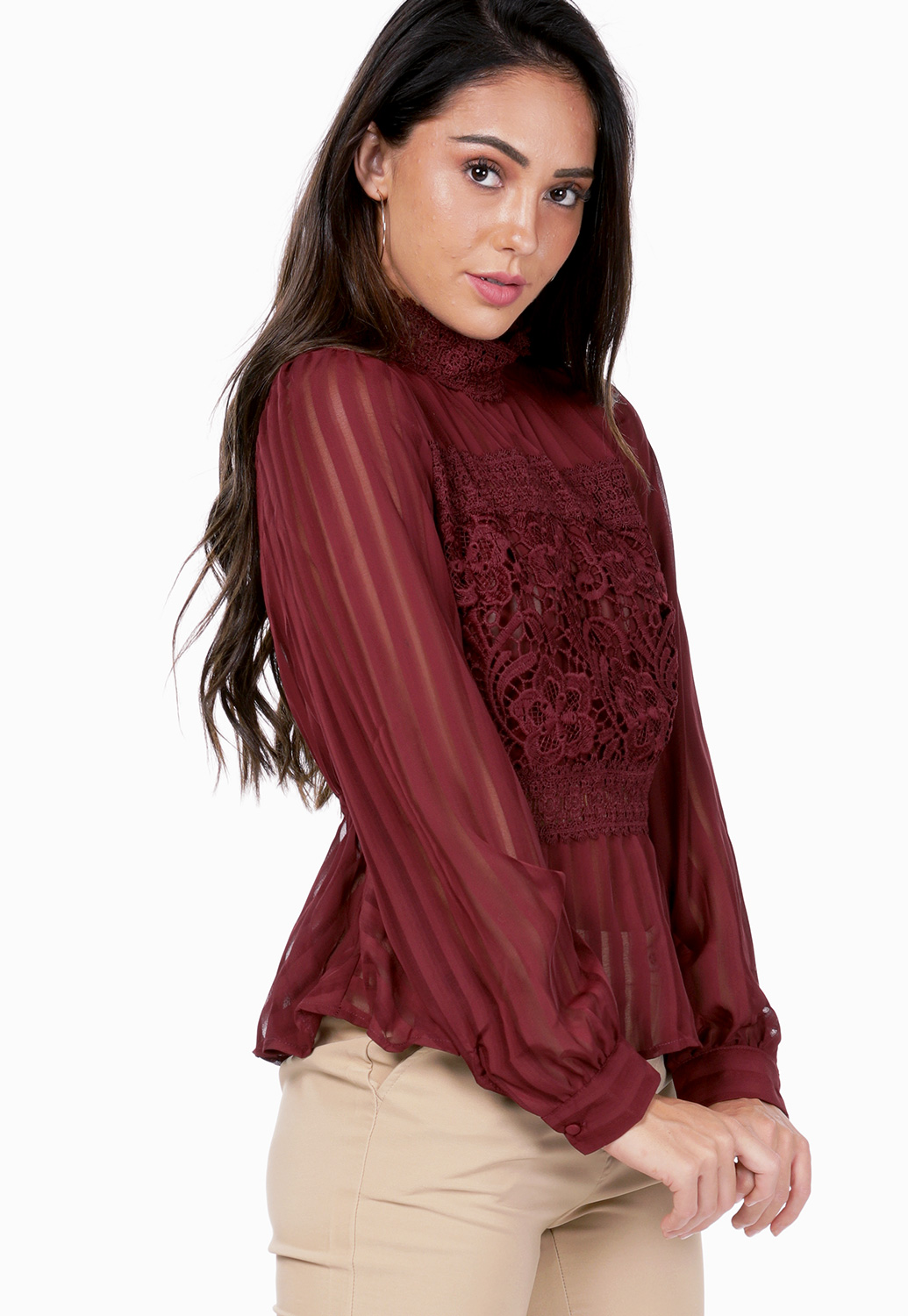 Halter Neck Smocked Top