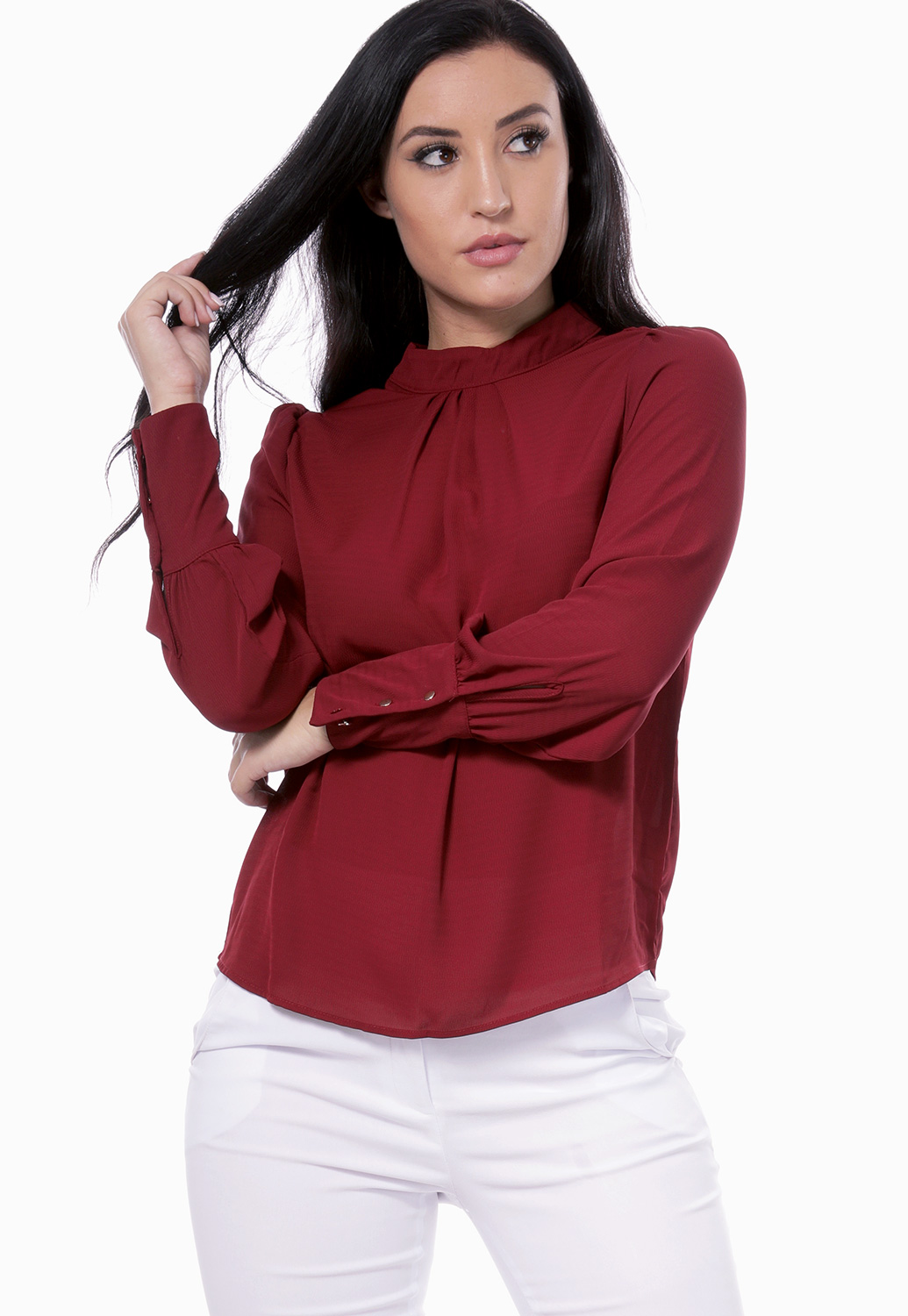 Long Sleeve Dressy Top