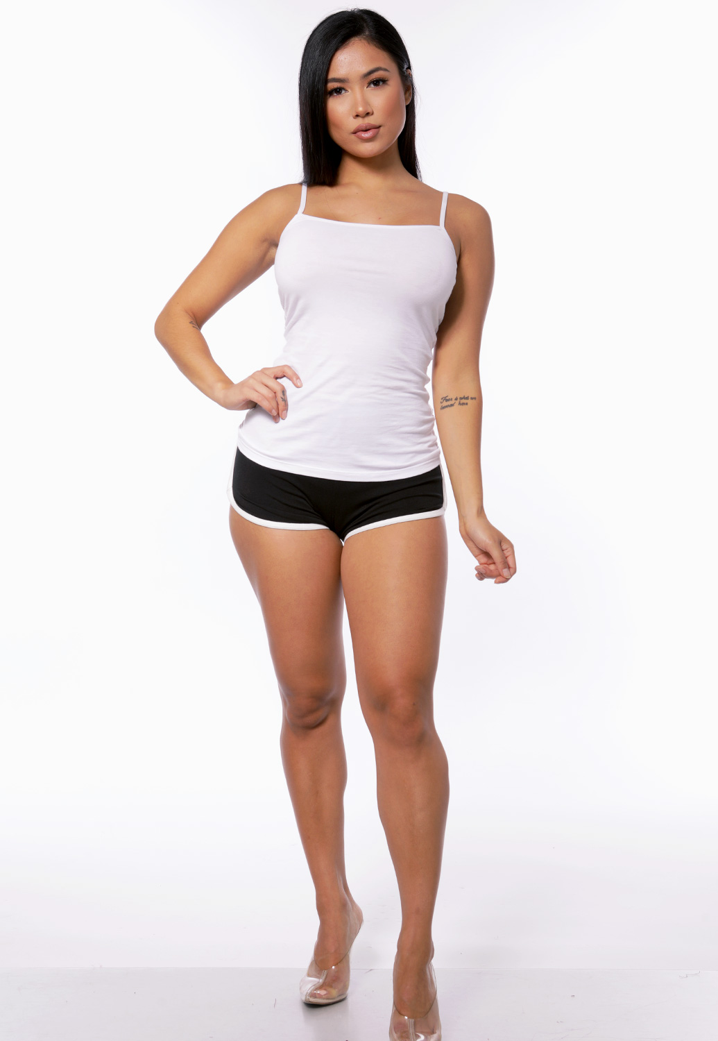Side Lined Active Shorts
