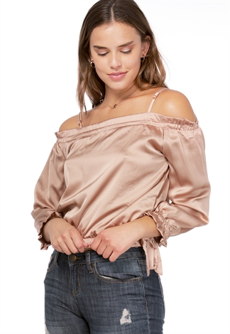 Off The Shoulder Dressy Top