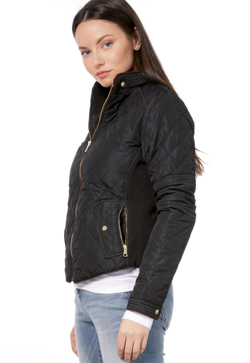 Padded Zip Up Jacket