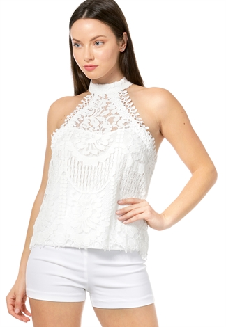 Lace Dressy Top
