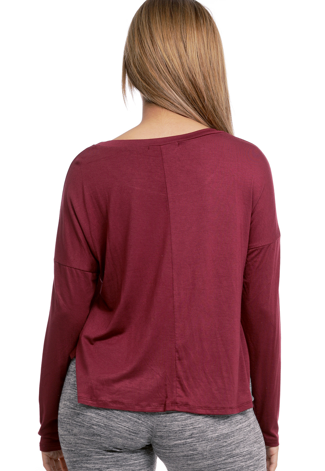 Knotted Long Sleeve Top