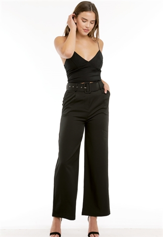 Belted Dressy Pants