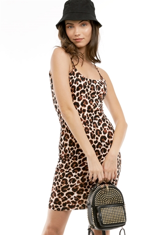 Cheetah Print Bodycon Dress