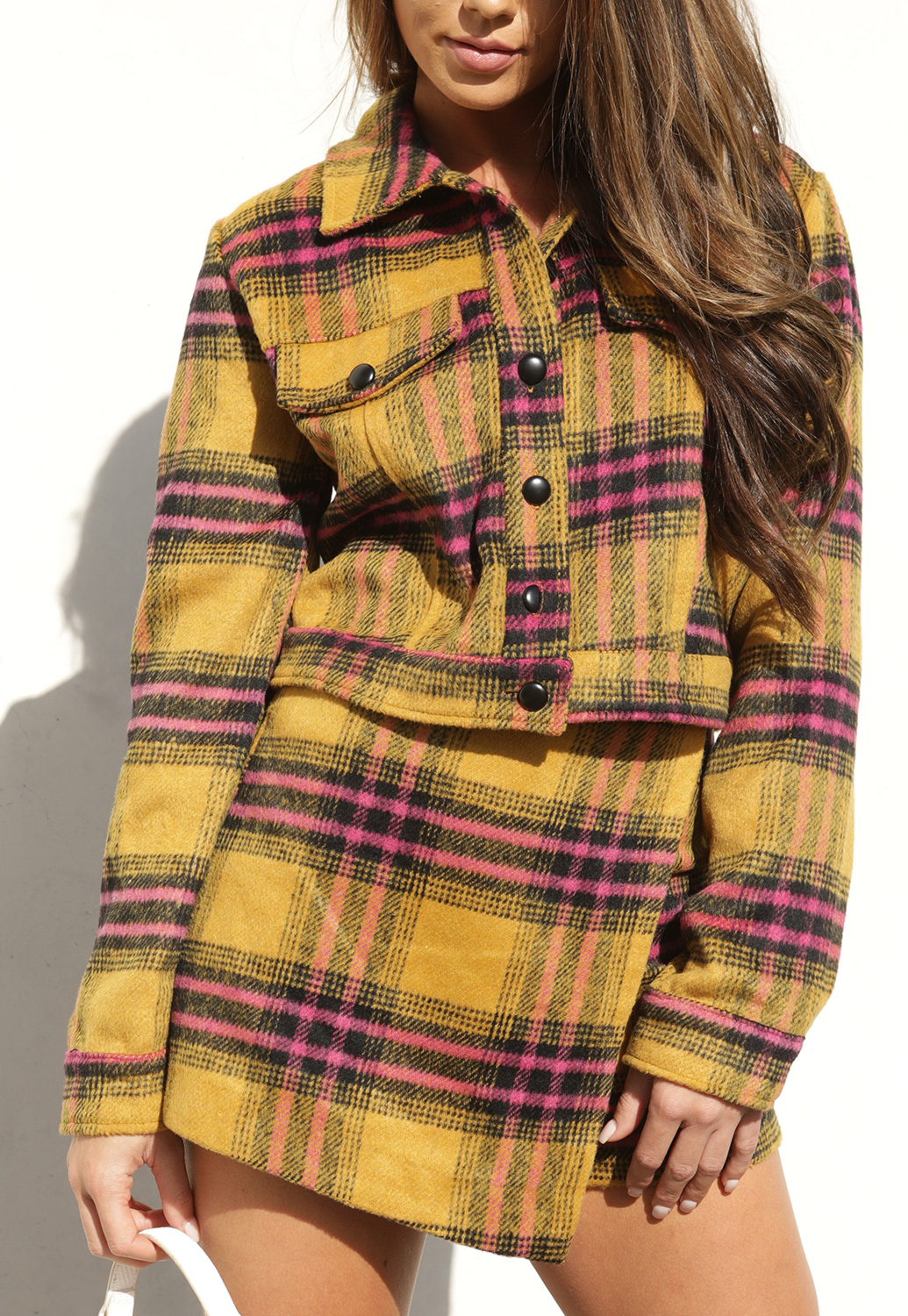 Plaid Casual Jacket