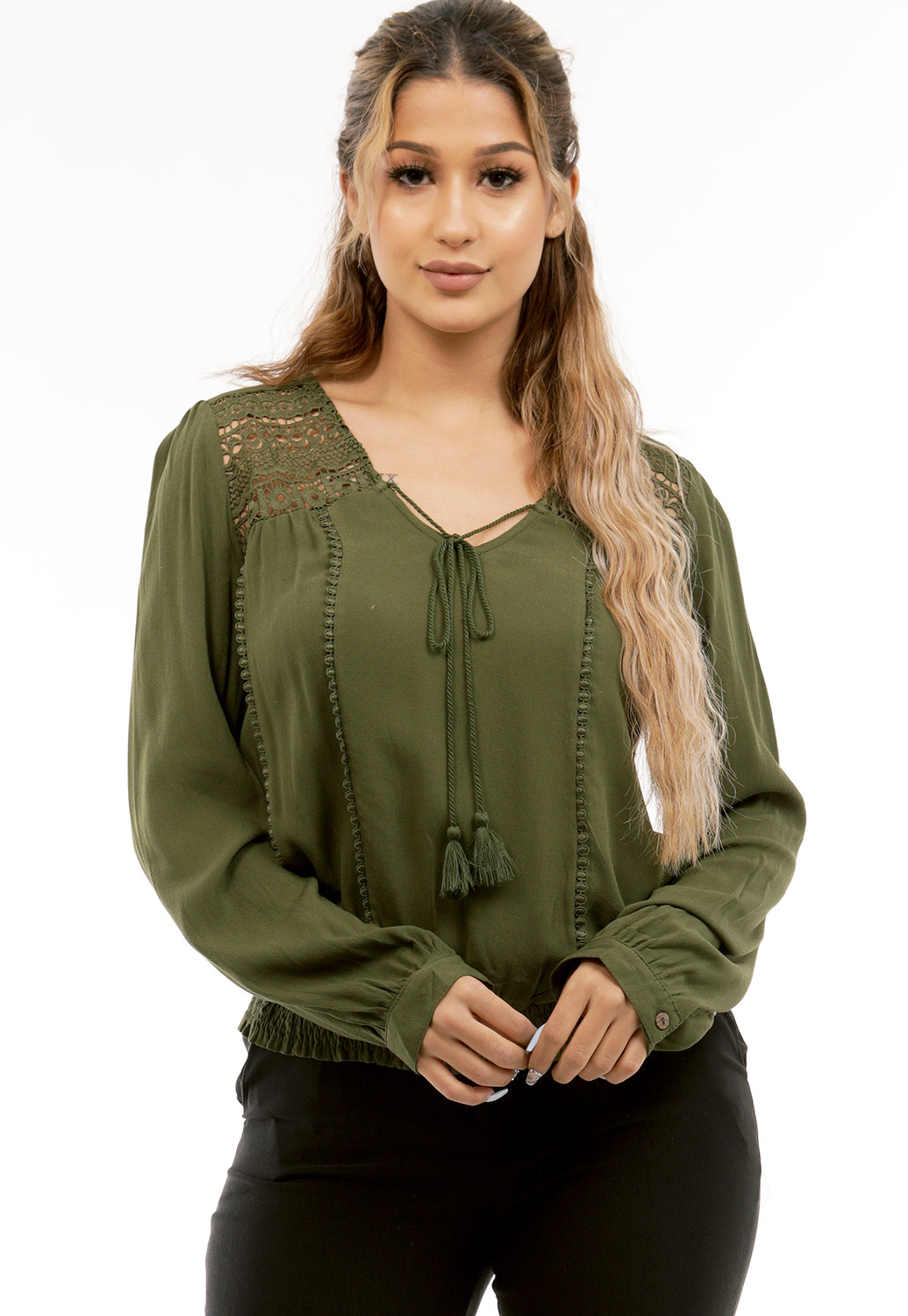 Waist Hugging Blouse