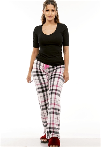 Plaid Sleepwear Pants