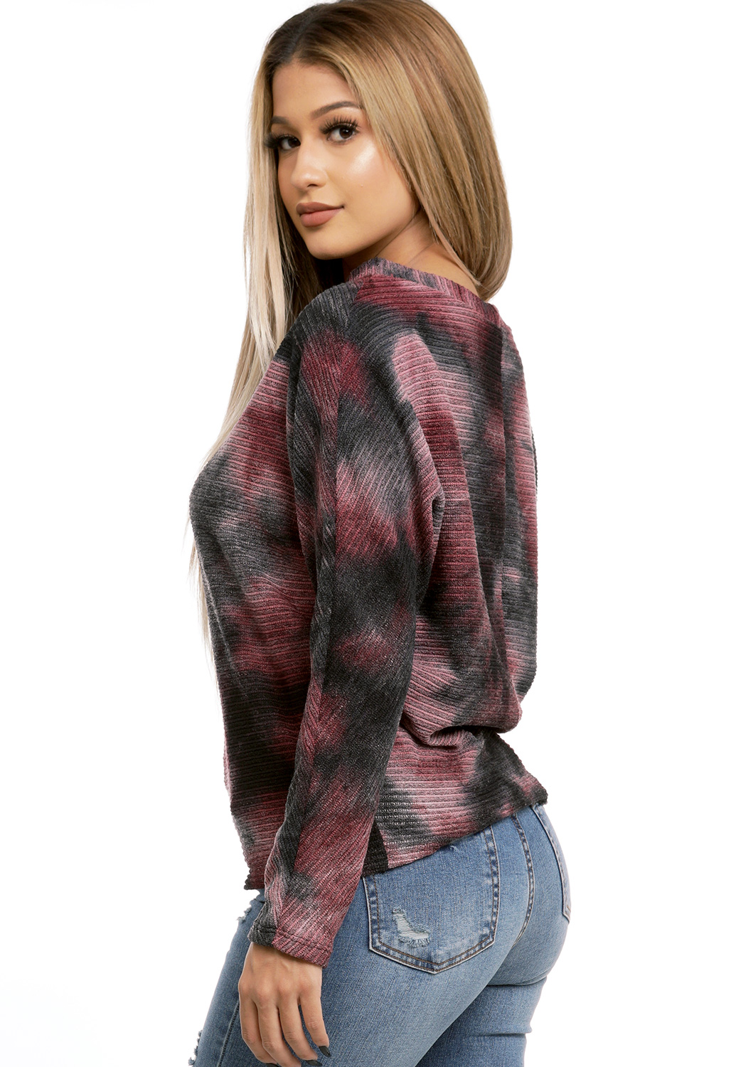 Tye Dye Knit Sweater