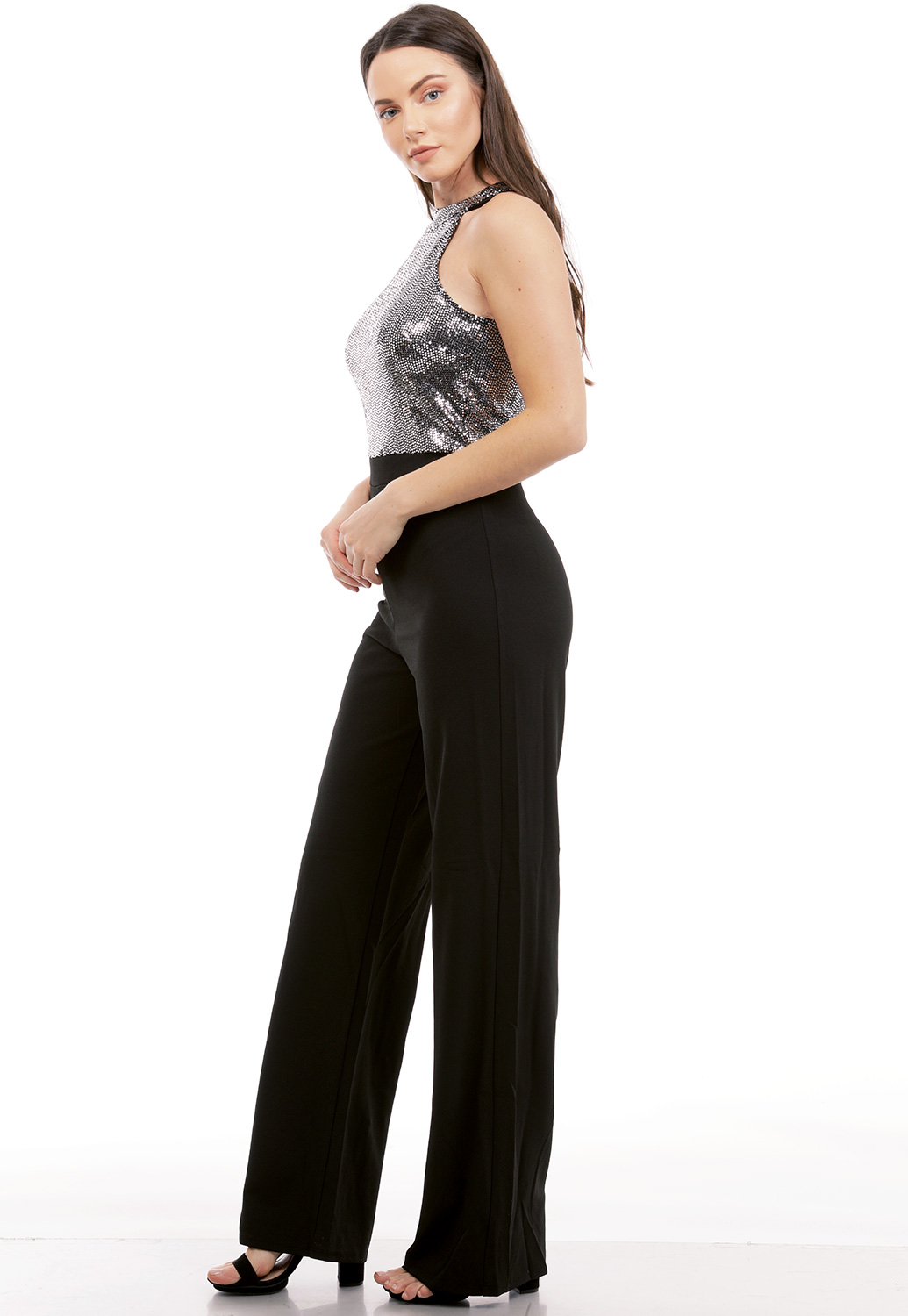 Sequin Embellished Jumpsuit