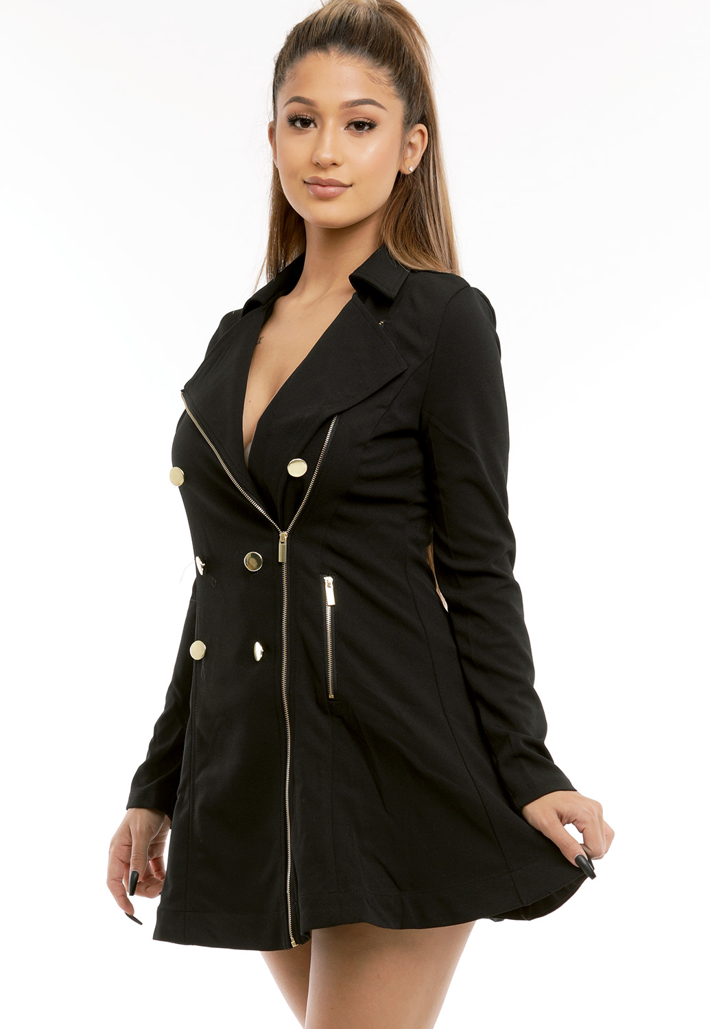 Zip Up Dressy Jacket