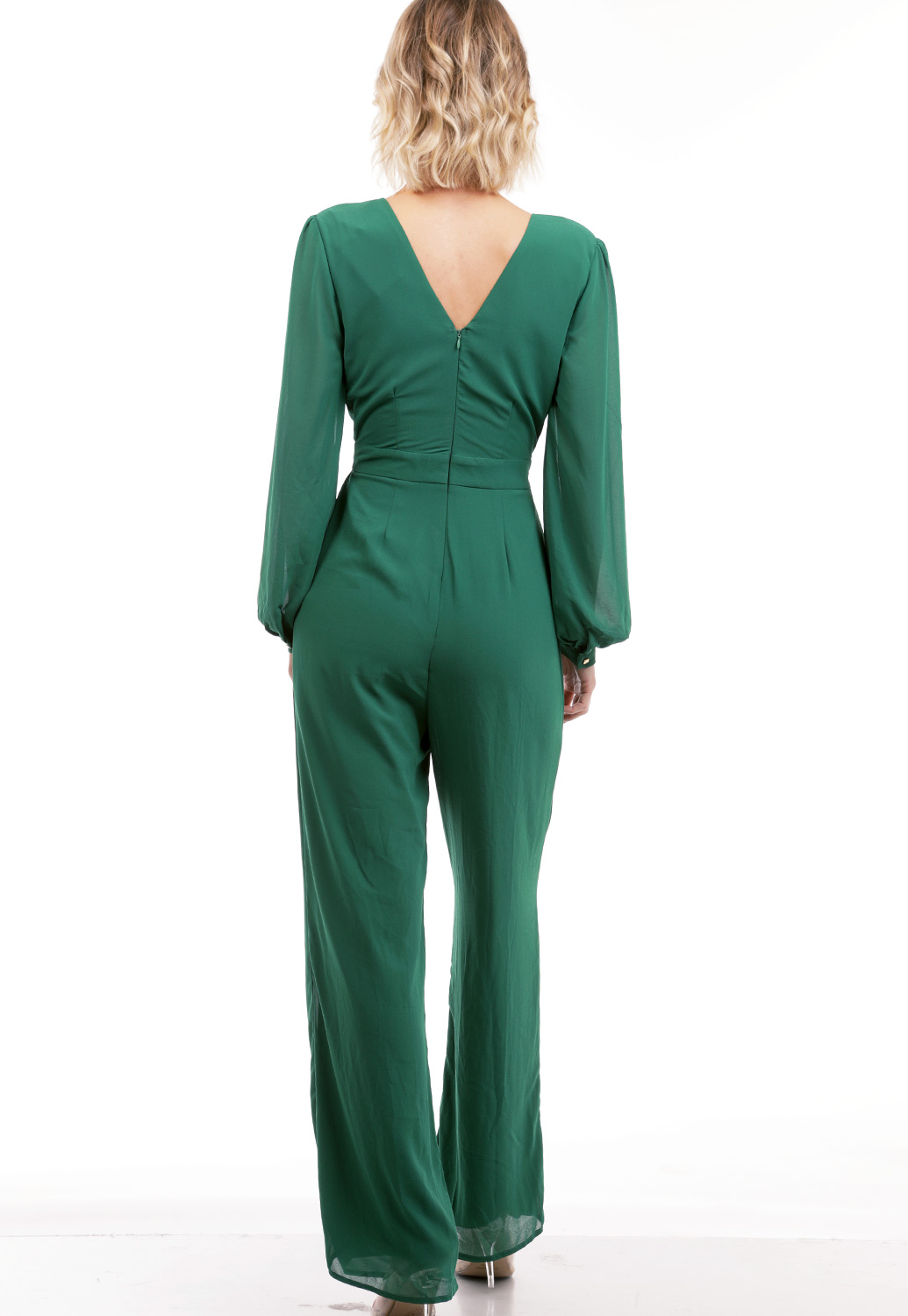 Front Cut-Out Detail Jumpsuit