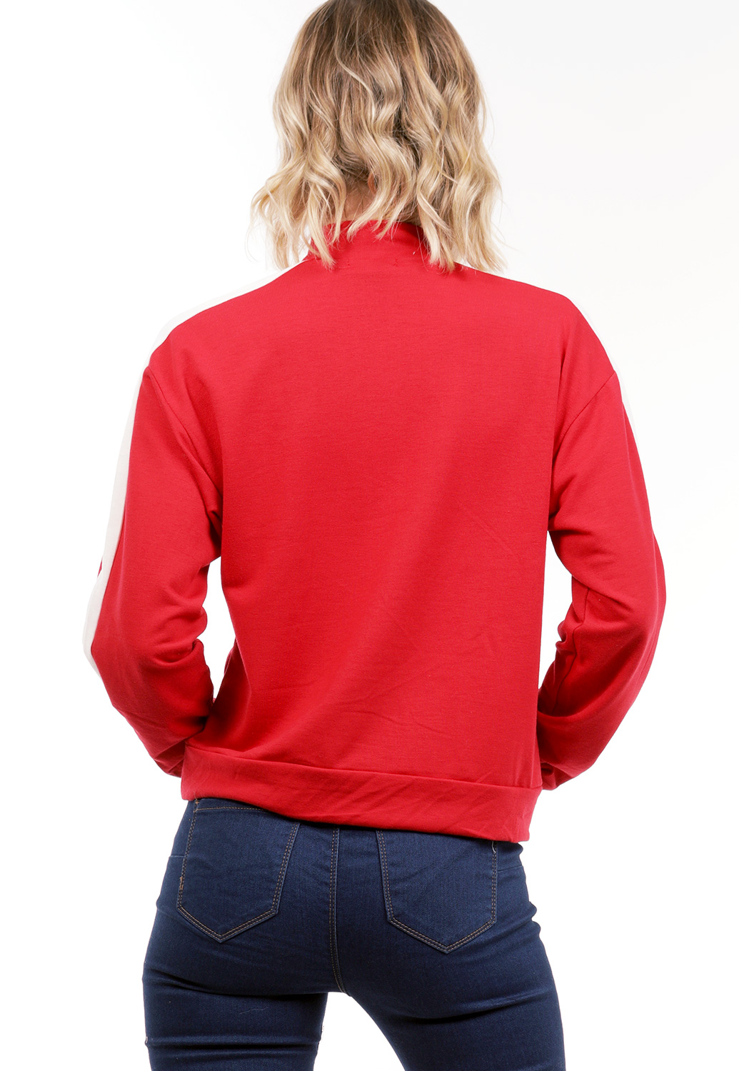 Half Zip Up Activewear Jacket