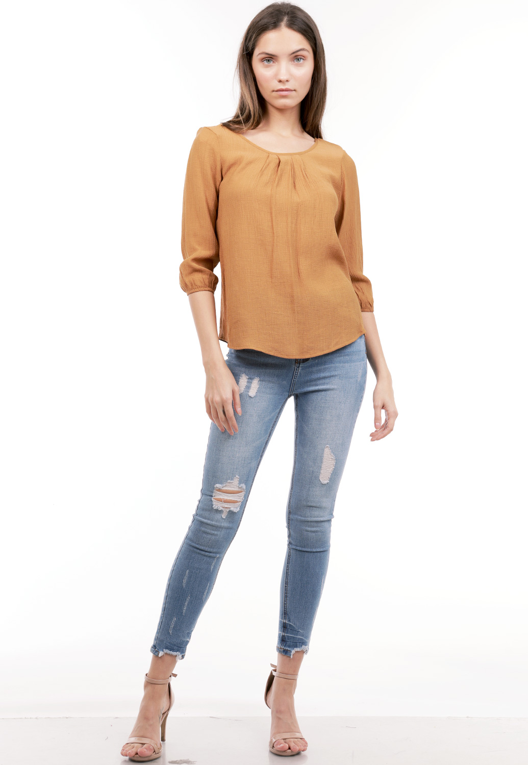 Back Criss Cross Top