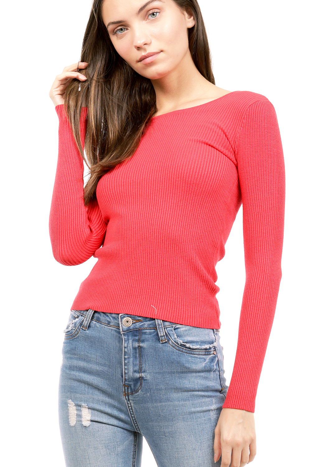 Knit Long Sleeve Top