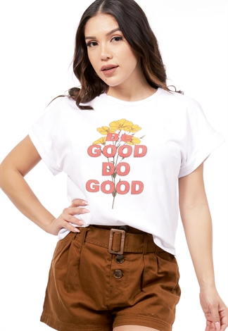 Be Good Do Good Graphic Top