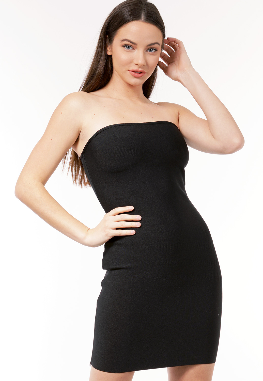 Bodycon Strapless Mini Dress