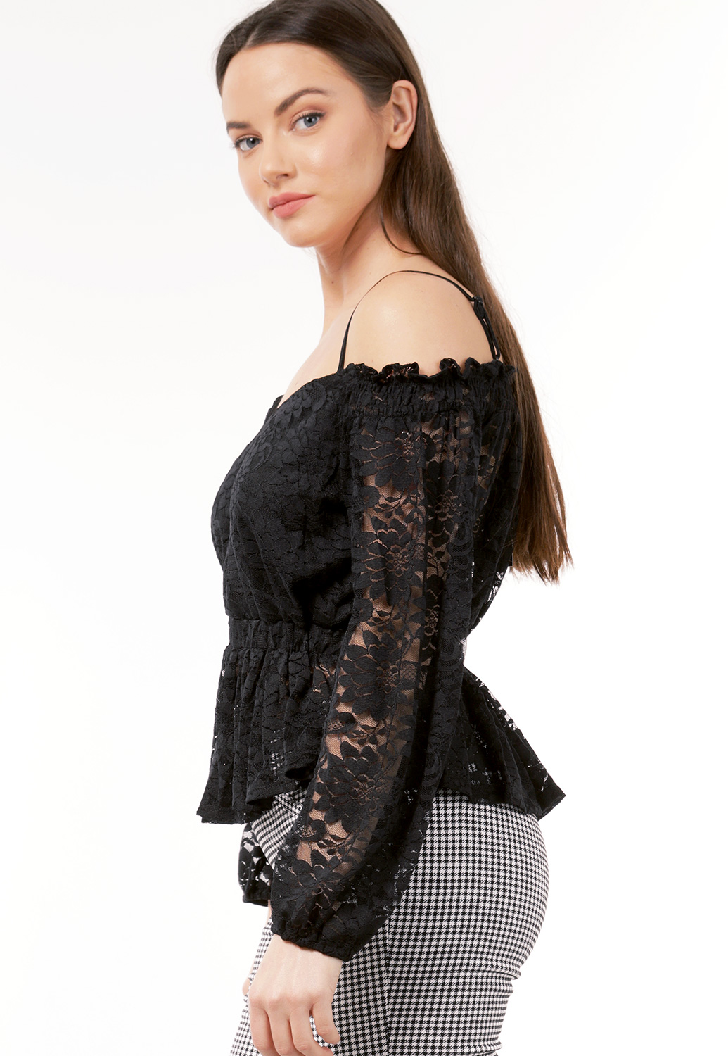 Crochet Off The Shoulder Top