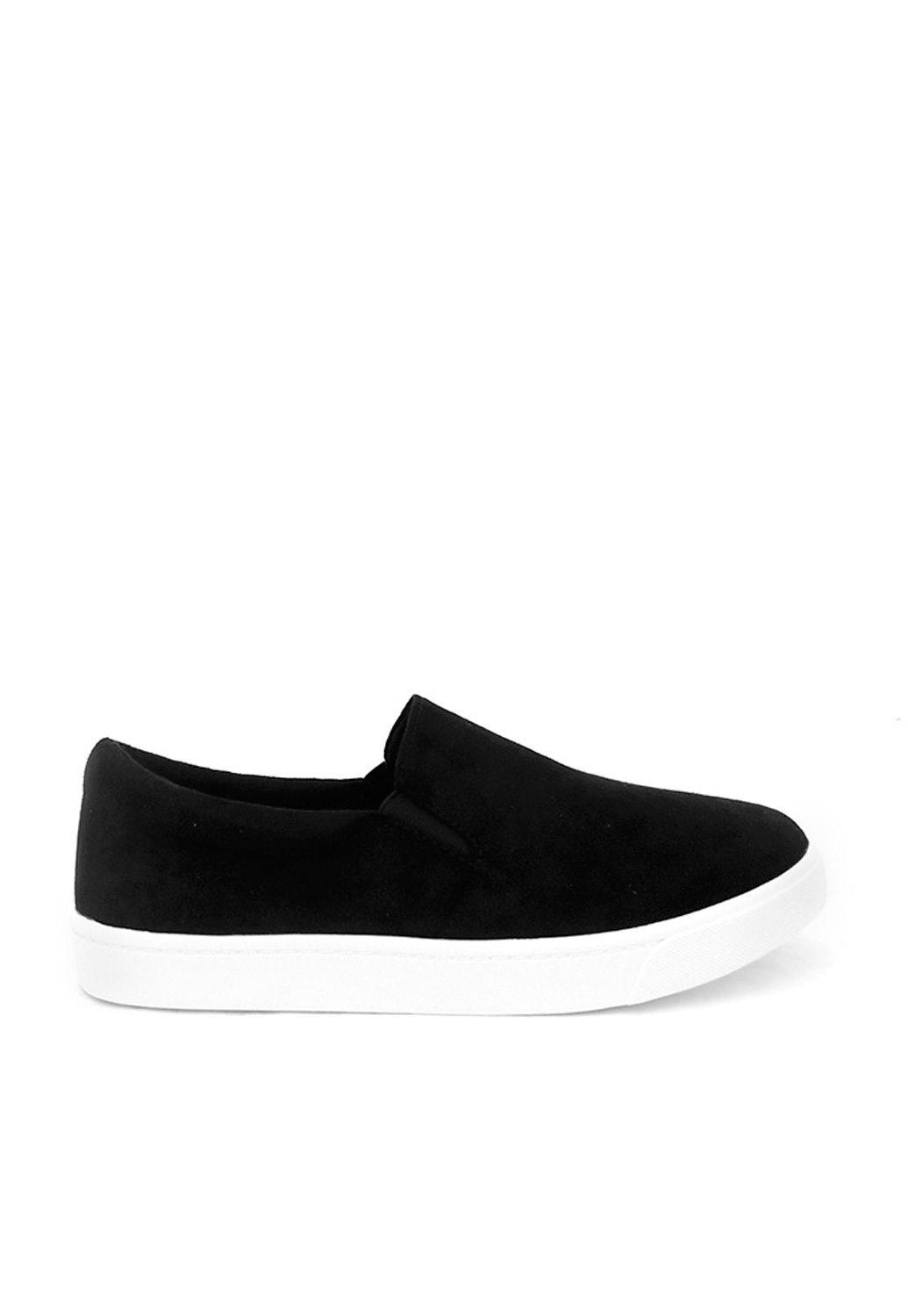 Faux Suede Slip On