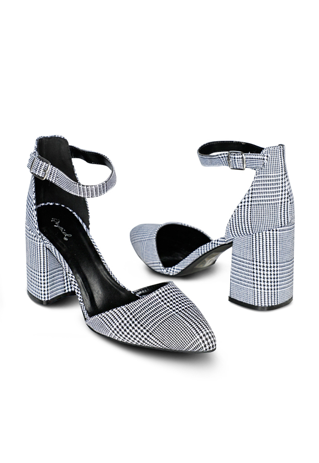 Pattern Pointed Toe Heels