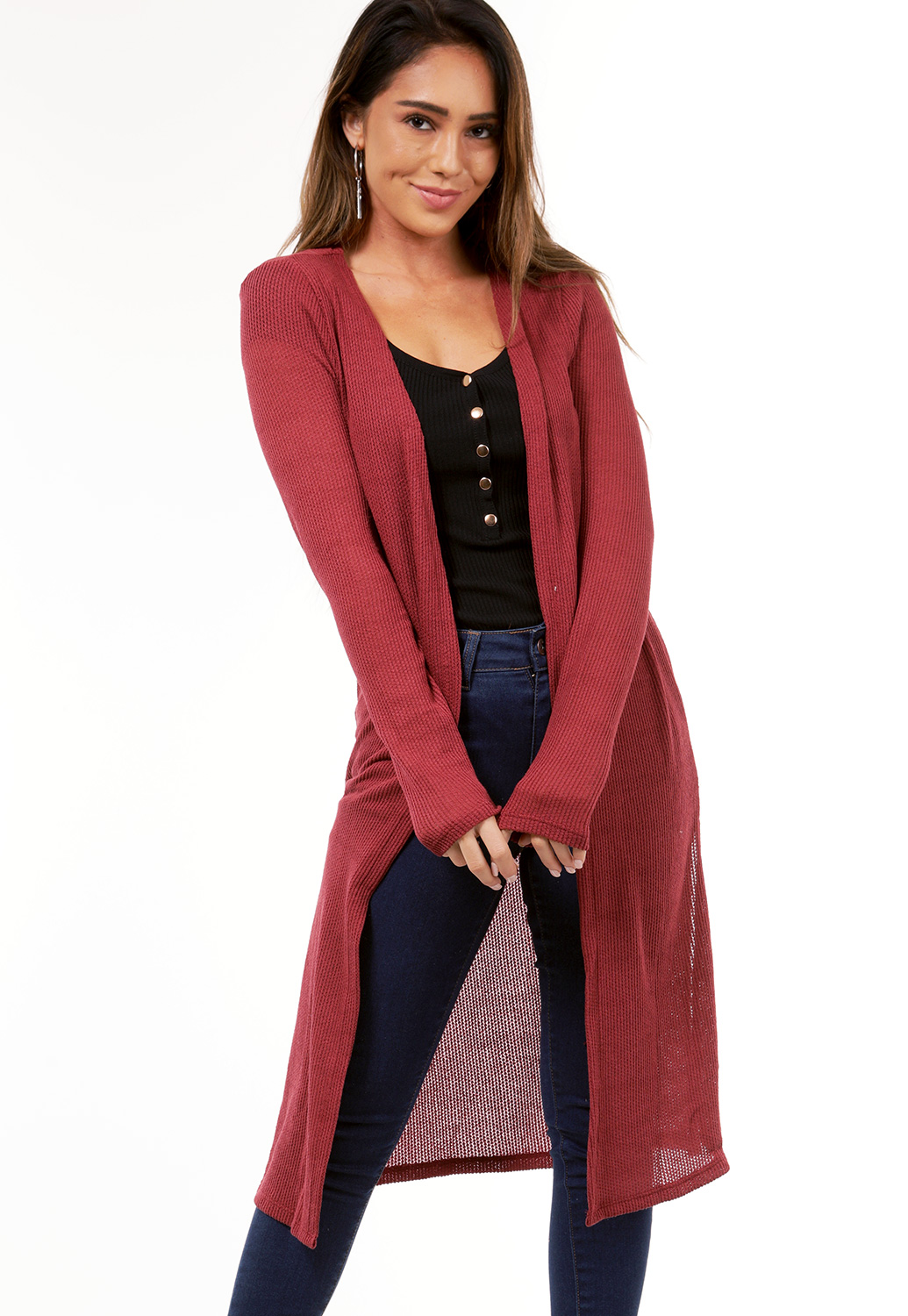Open Front Cardigans