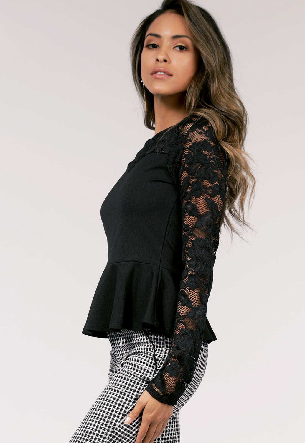Floral Lace Dressy Top
