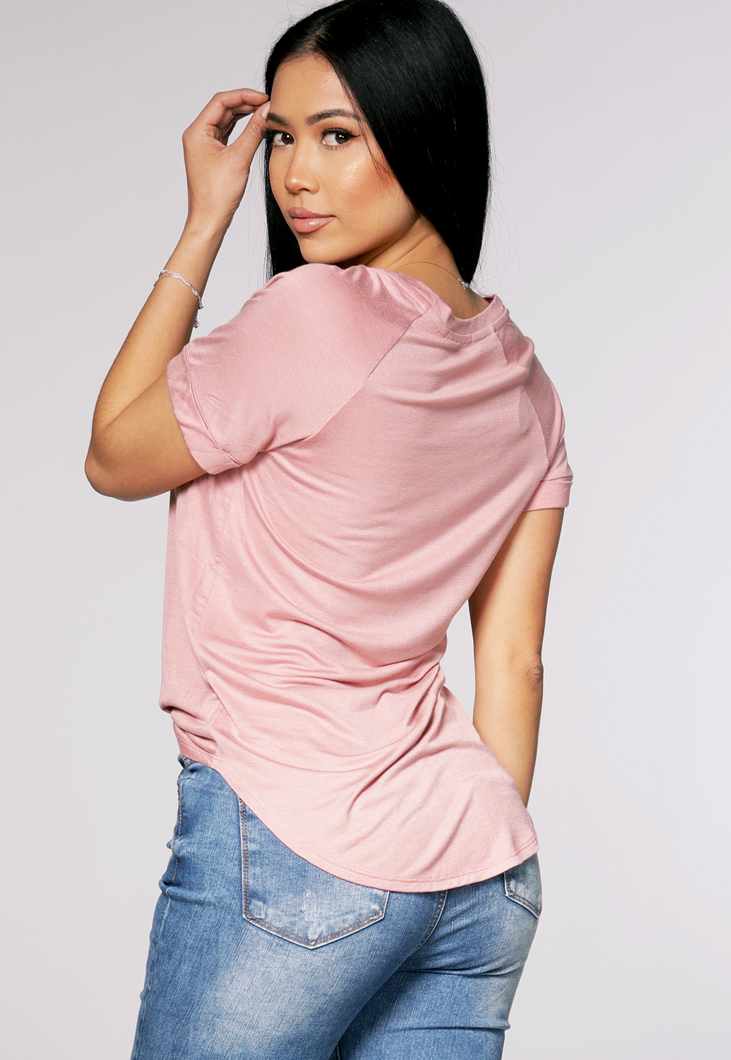 Pocket Detail Basic Top
