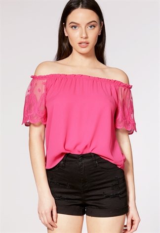 Off The Shoulder Casual Top