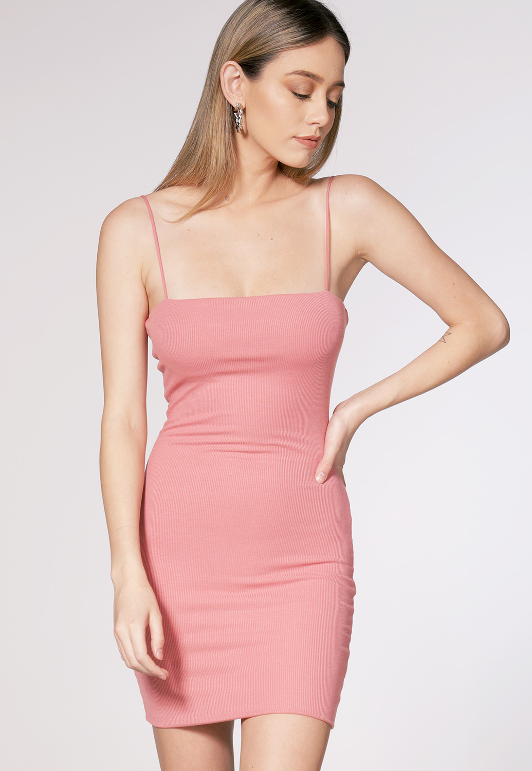 Strappy Bodycon Mini Dress