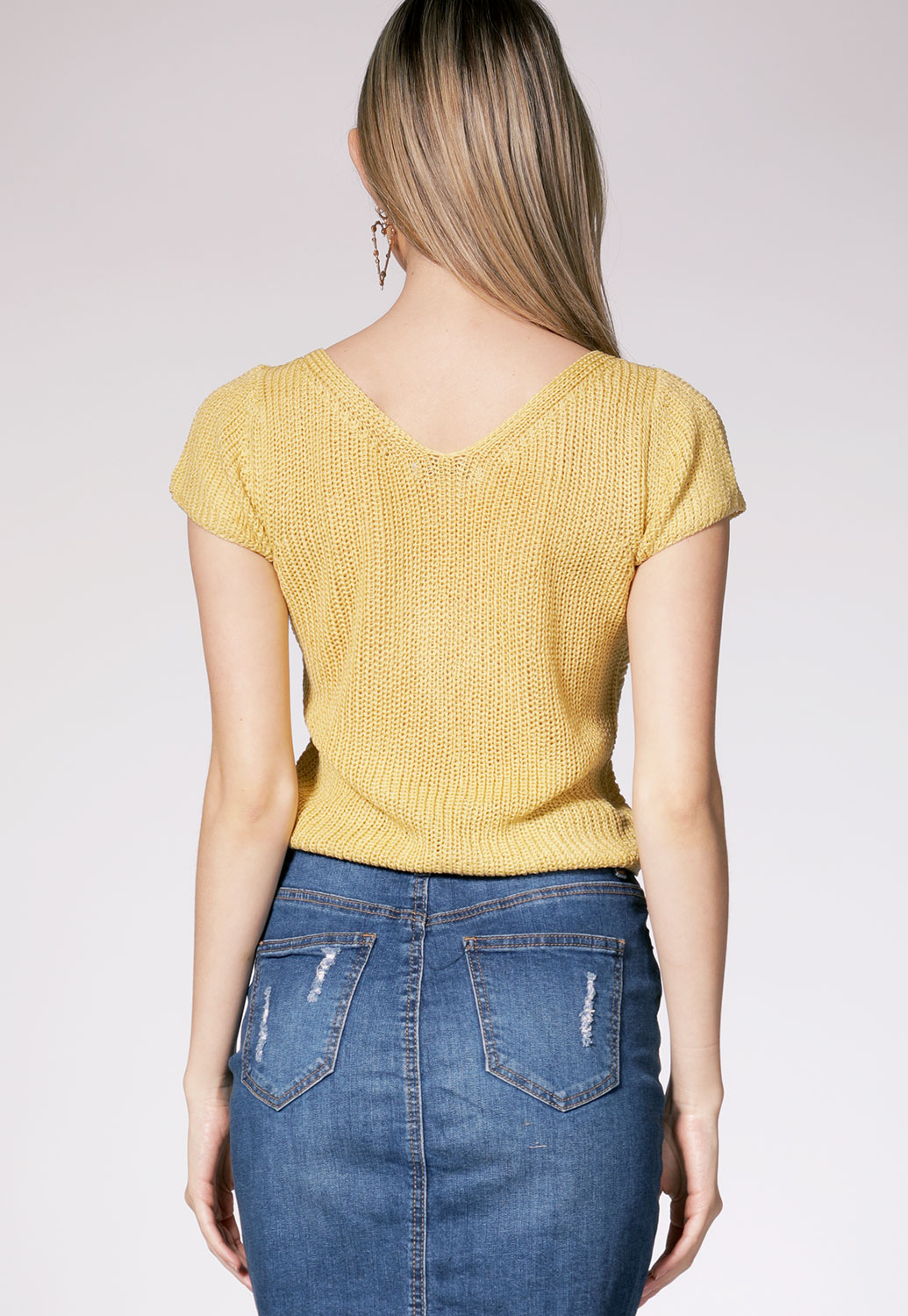 Twisted Knit Top