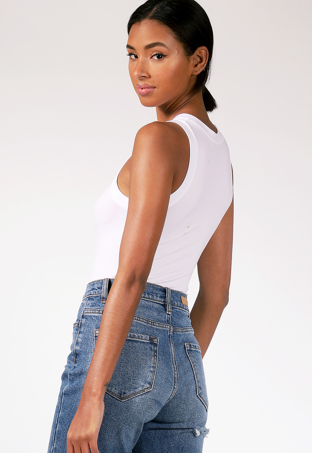 Round Neck Bodysuit